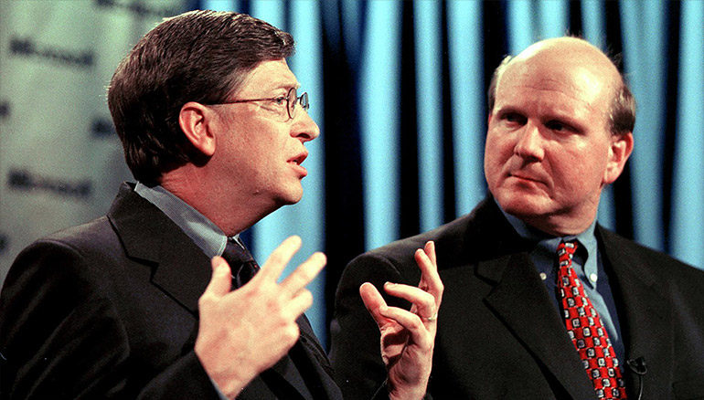 Running a Better Business lesson learn from Bill Gates and Steve Ballmer