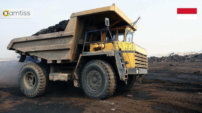 dump truck - coal mining